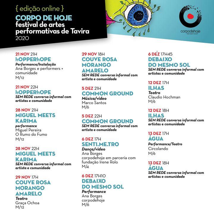 Festival de artes performativas de Tavira | hOPPERhOPE