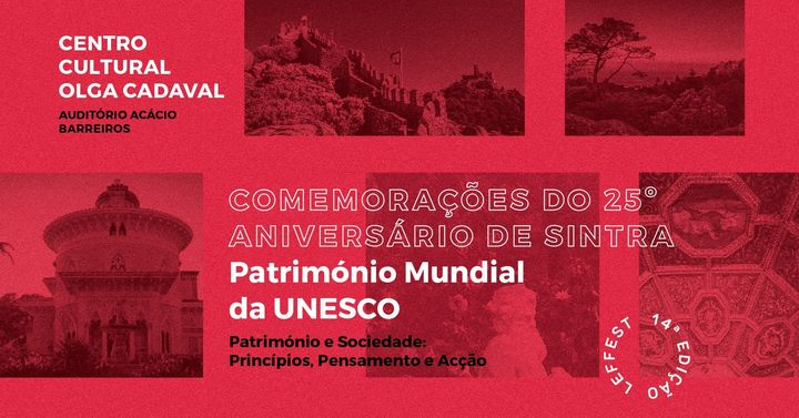 Simpósio: 25º Aniversário de Sintra – Património Mundial da UNESCO | LEFFEST'20