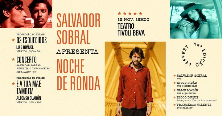 Salvador Sobral Apresenta: Noche de Ronda | LEFFEST'20