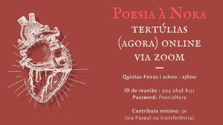 Poesia à Nora - noite de poesia livre (online)