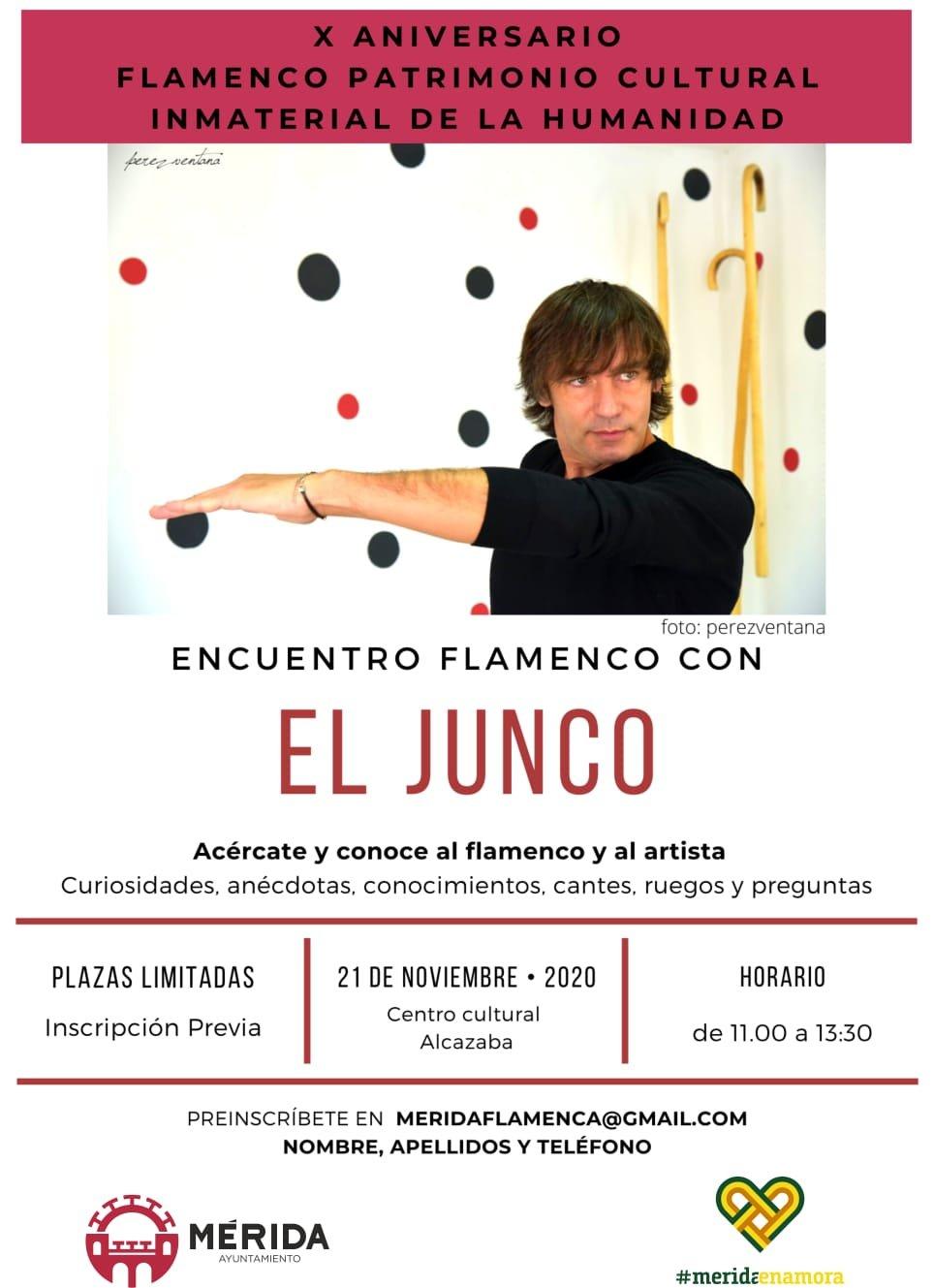 Encuentro flamenco con 'El Junco'