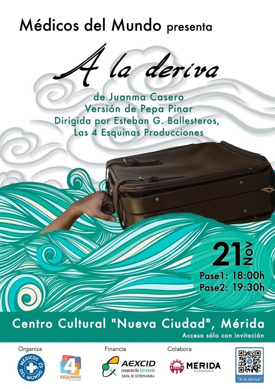 Teatro: «A la deriva» (Medicos del Mundo)