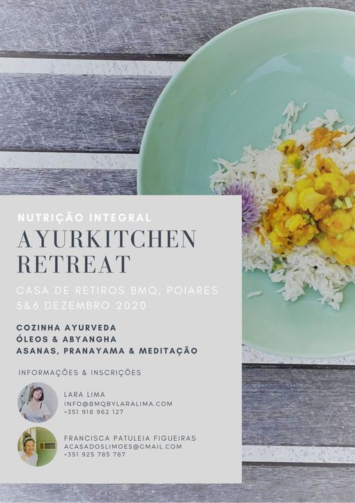 Ayurkitchen Retreat - Nutrição Integral