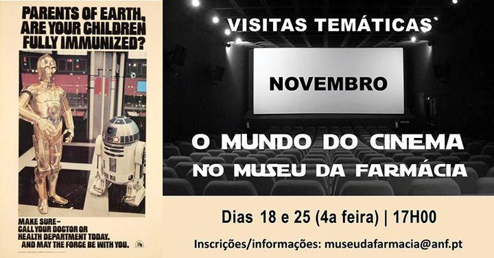 Visita Temática: 'O Mundo do Cinema no Museu da Farmácia'