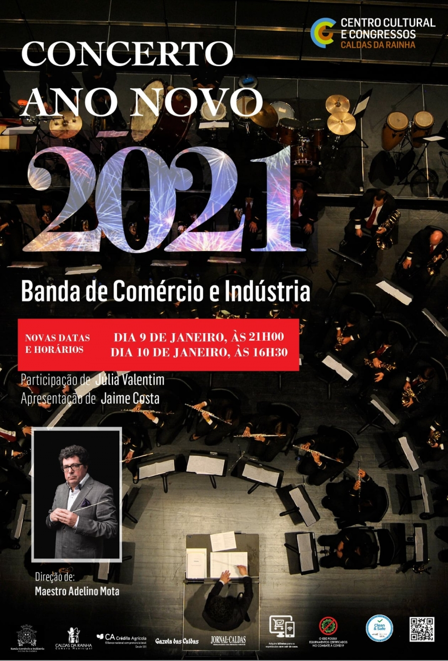 CANCELADO | Concerto de Ano Novo 2021