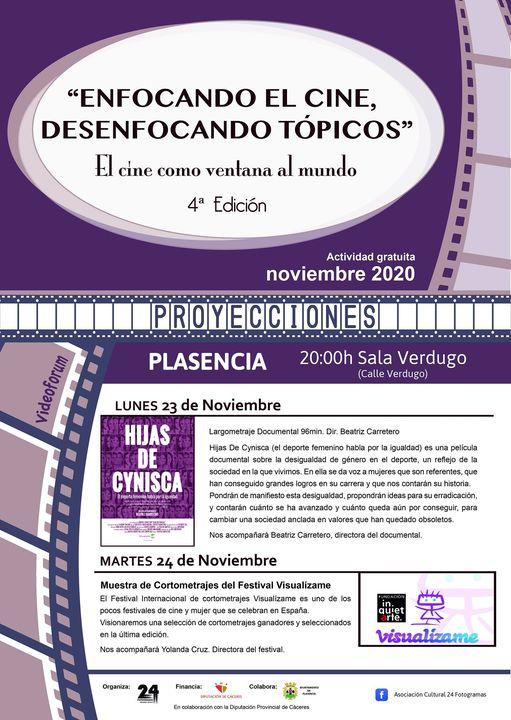 4ª Edición 'Enfocando el cine, desenfocando tópicos. El cine como ventana al mundo'
