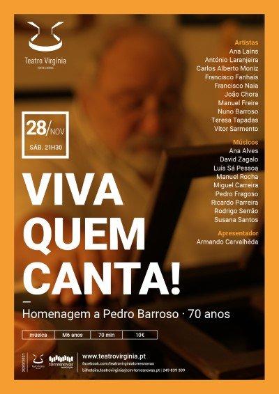 Viva Quem Canta - Concerto de homenagem a Pedro Barroso