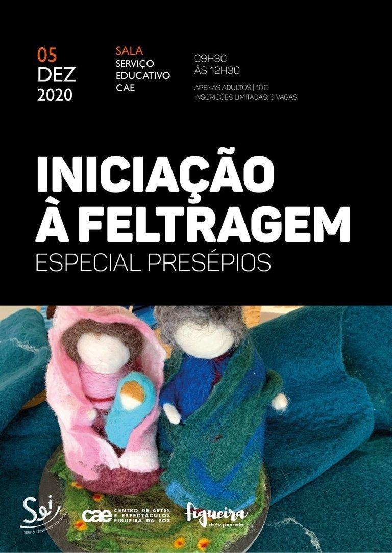 OFICINA INICIAÇÃO À FELTRAGEM - Especial Presépios