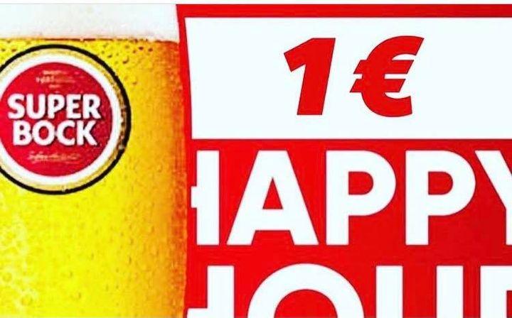 Happy Hour das 18H ás 20H30 - Pina Colada e GIN Pink a 3 €