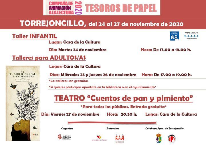 Tesoros de Papel en Torrejoncillo