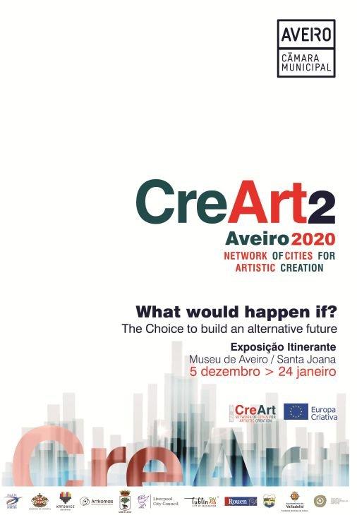 E se? A escolha de construir um futuro alternativo | Exposição CreArt 2020