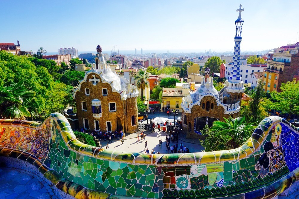 A Virtual Tour of Gaudi's Barcelona