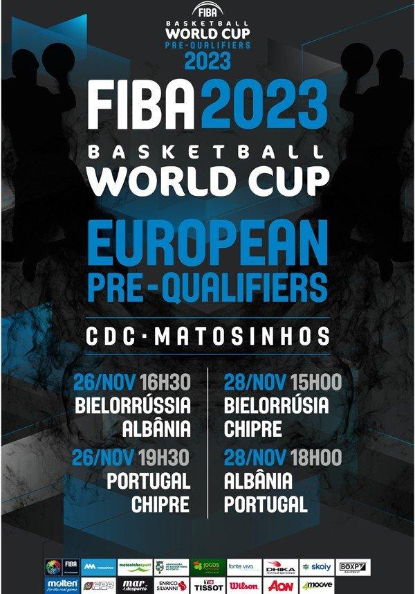 Pré-Qualificação Para o Mundial 2023