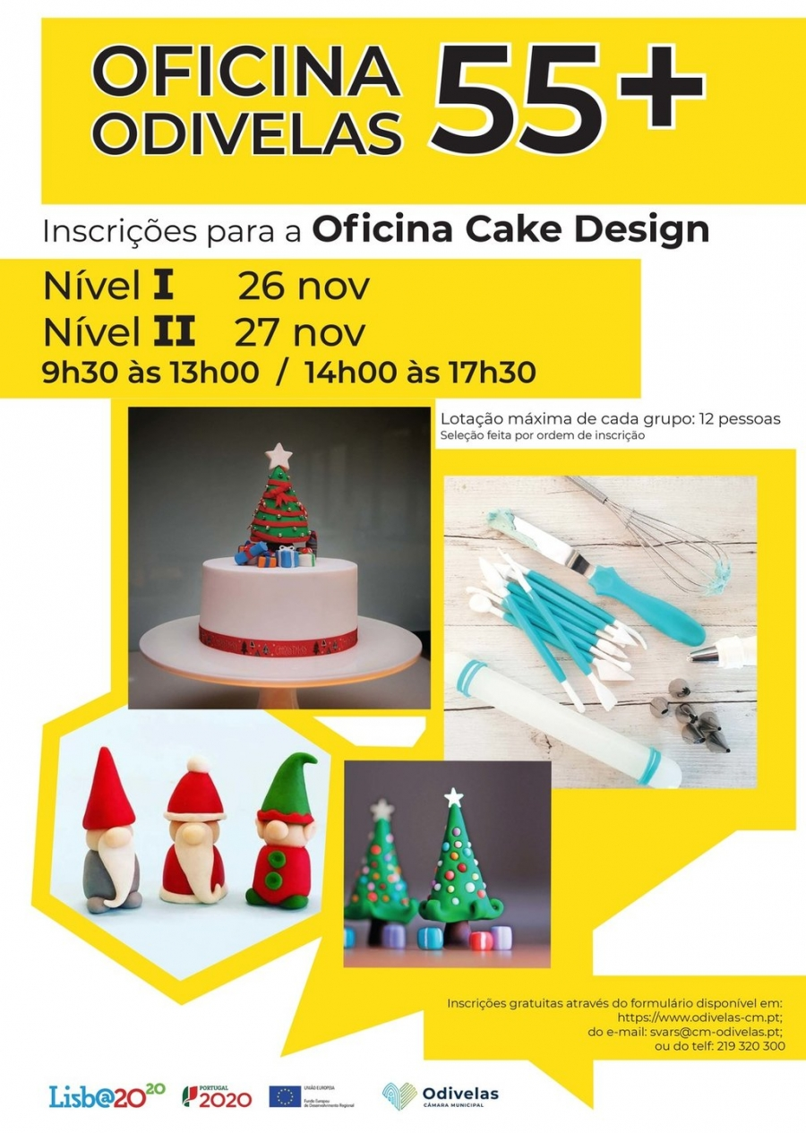 Inscrições | Oficina de Cake Design Níveis I e II