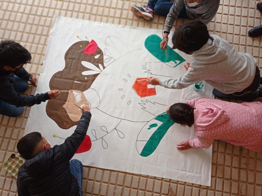 Exposición «Aprendiendo a refugiar III: niños y niñas refugiados sueñan a lo grande»