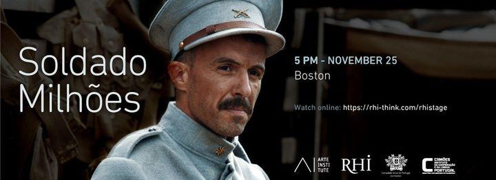 RHI Stage | Movie 'Soldado Milhões' in Boston