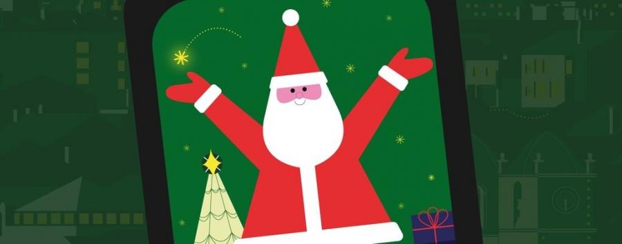O Pai Natal Entra Na Tua Casa // Programação ...