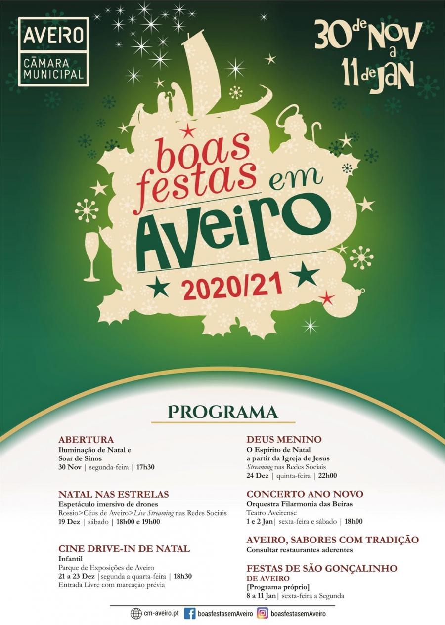 """Abertura do """"Boas Festas em Aveiro"""""""