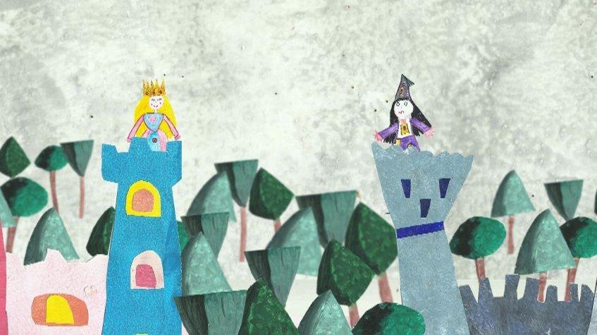 A coroa da rainha