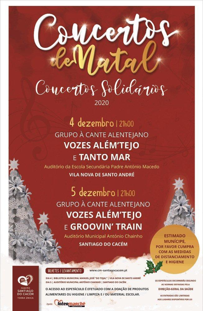 Concertos de Natal – Concertos Solidários