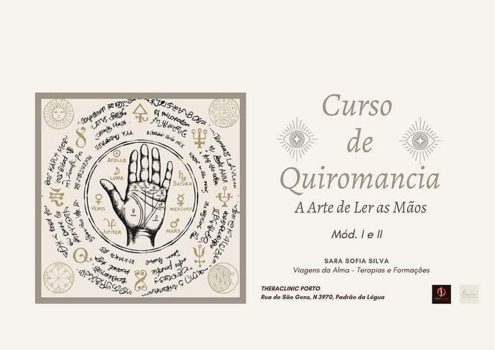 Quiromância - A Arte De Ler As Mãos (Online E Presencial)