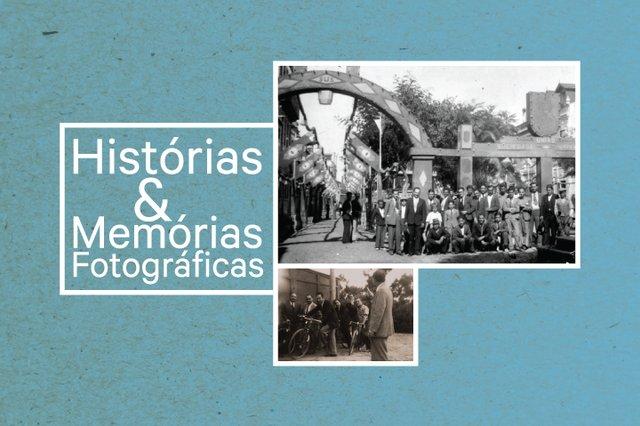 Exposição de Rua do Projeto Histórias & Memórias Fotográficas