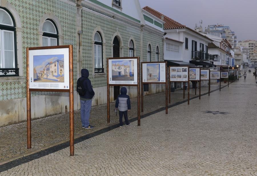 Exposição de Rua 'Ericeira pelos Olhos de Orlando Morais'