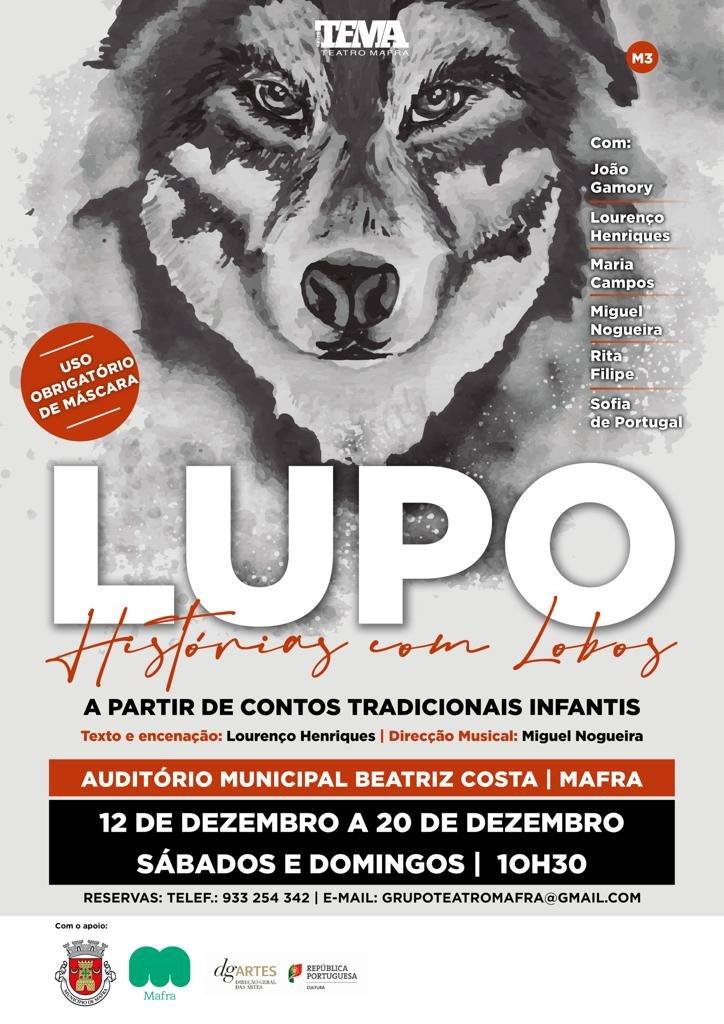 Teatro 'LUPO - Histórias com Lobos'