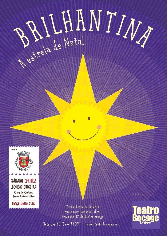 Teatro 'Brilhantina a Estrela de Natal'