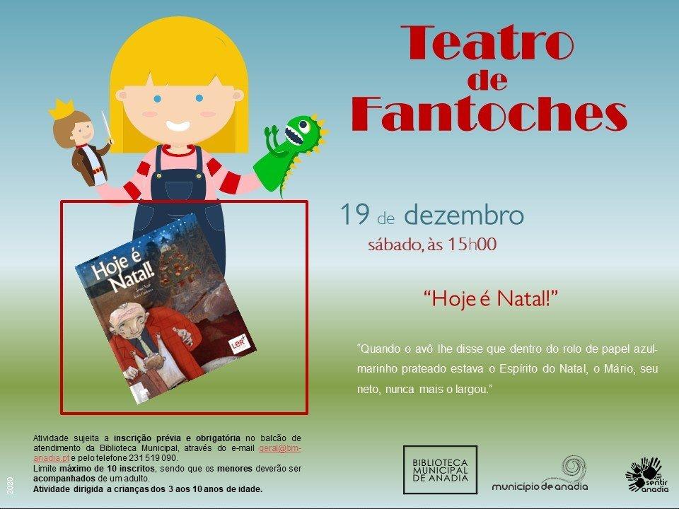 """Teatro de Fantoches - """"Hoje é Natal!"""""""