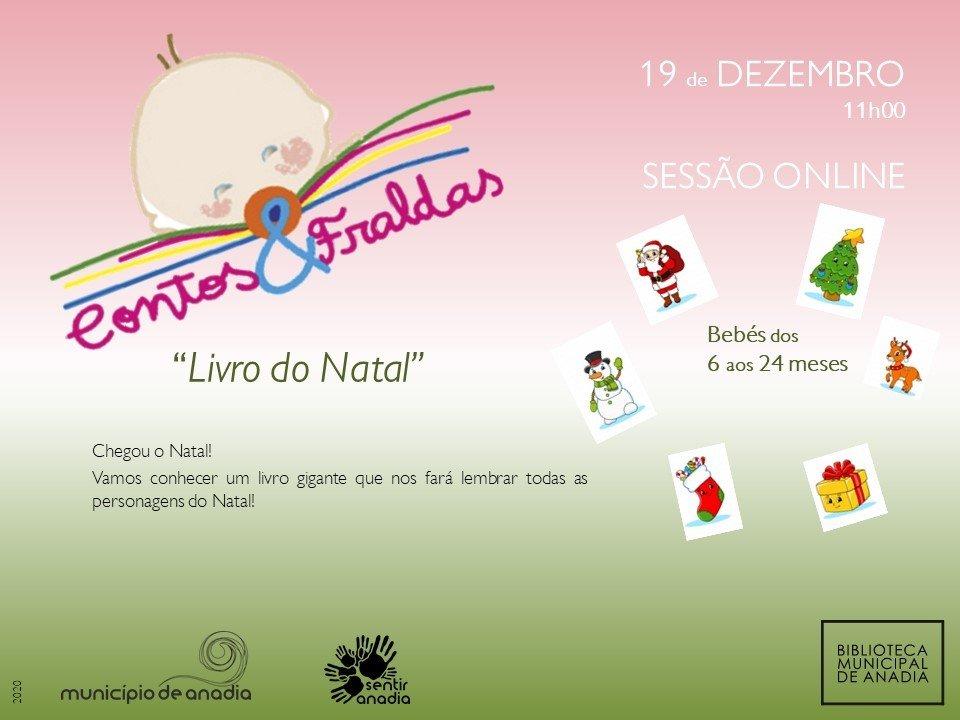 Contos & Fraldas 'Livro de Natal' - Sessão online