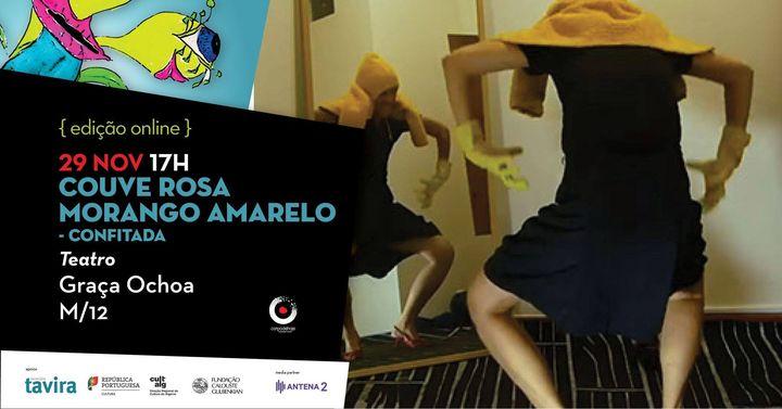 Couve Rosa Morango Amarelo - confitada | de Graça Ochoa | CORPO DE HOJE festival de arte sperformativas de Tavira {edição Online} 2020