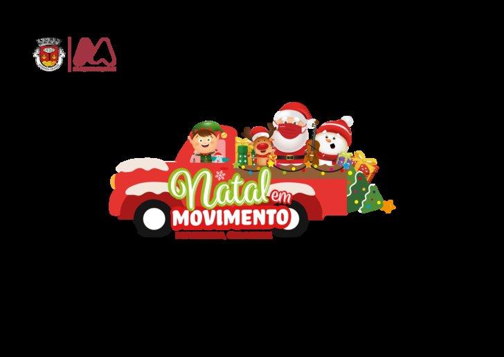NATAL EM MOVIMENTO - VIEIRA DE LEIRIA - Comboio de Natal