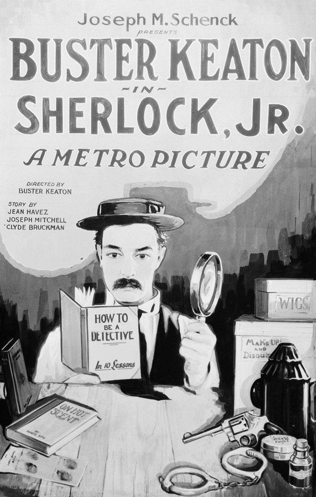 Cine Filmoteca: «El moderno Sherlock Holmes»