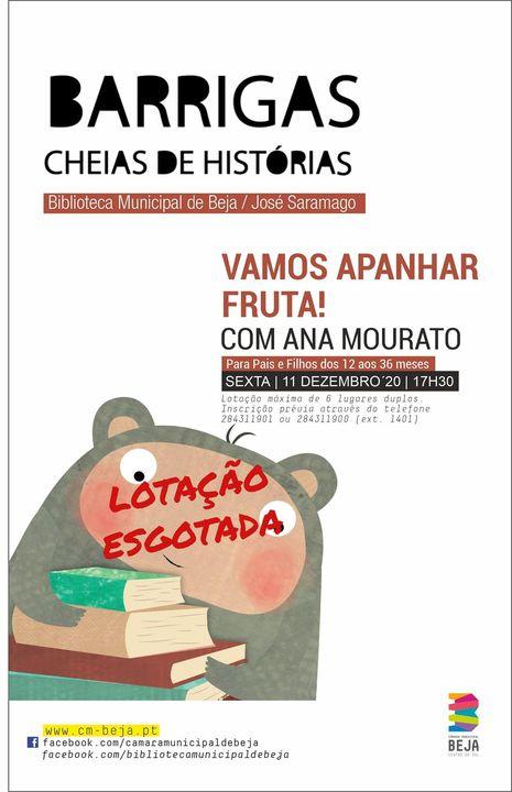 Vamos apanhar fruta! com Ana Mourato