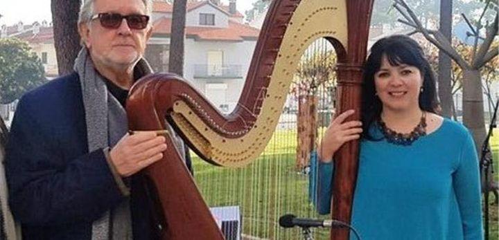 Recital de Poesia e Harpa