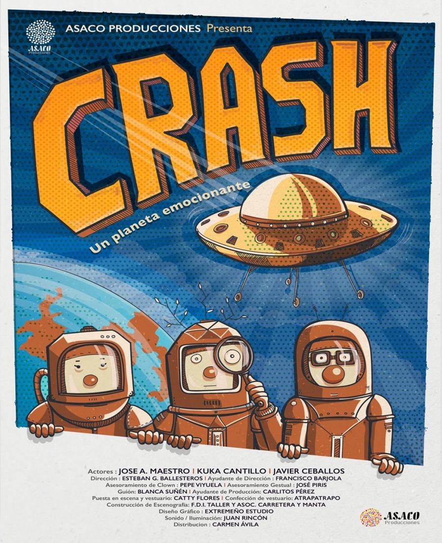 Teatro familiar: «Crash, un planeta emocionante»