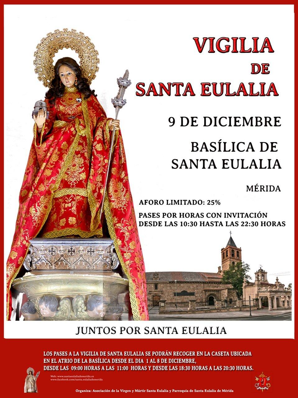 Festividad Mártir Santa Eulalia 2020