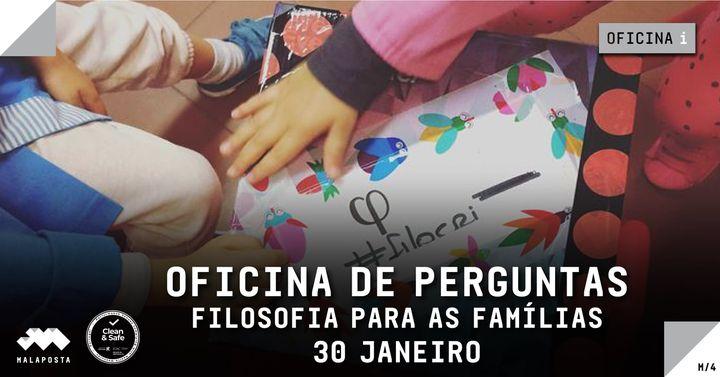 OFICINA de Perguntas | 'Filosofia para Famílias'
