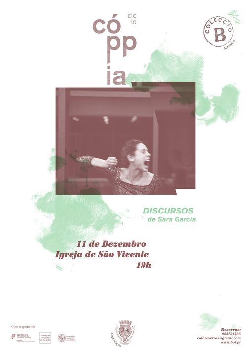 Ciclo Coppia: DISCURSOS de Sara Garcia