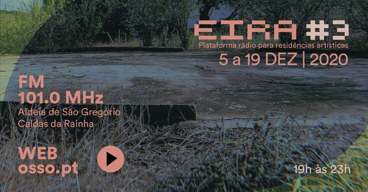 EIRA #3 - Plataforma rádio para residências artísticas
