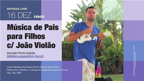 Música de Pais para Filhos com João Violão