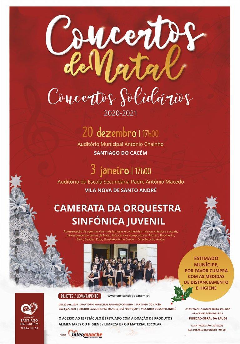 Concerto de Natal – Camerata da Orquestra Sinfónica Juvenil