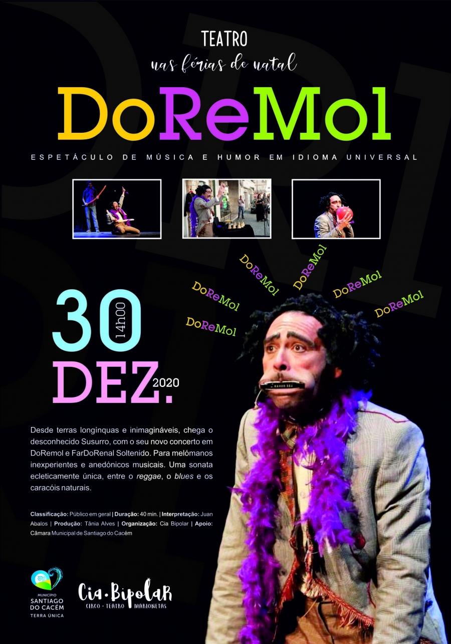 DoReMol – Espetáculo de música e humor