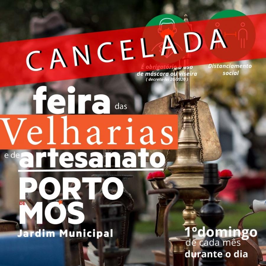 Mercado de Produtos Locais e Feira de Velharias - Cancelado