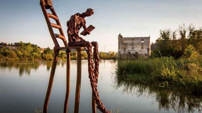 Exposición 'Esculturas para leer a Manuel Pacheco' | BADAJOZ