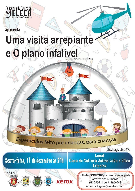Teatro Infantil 'Uma visita arrepiante' e 'O plano infalível'