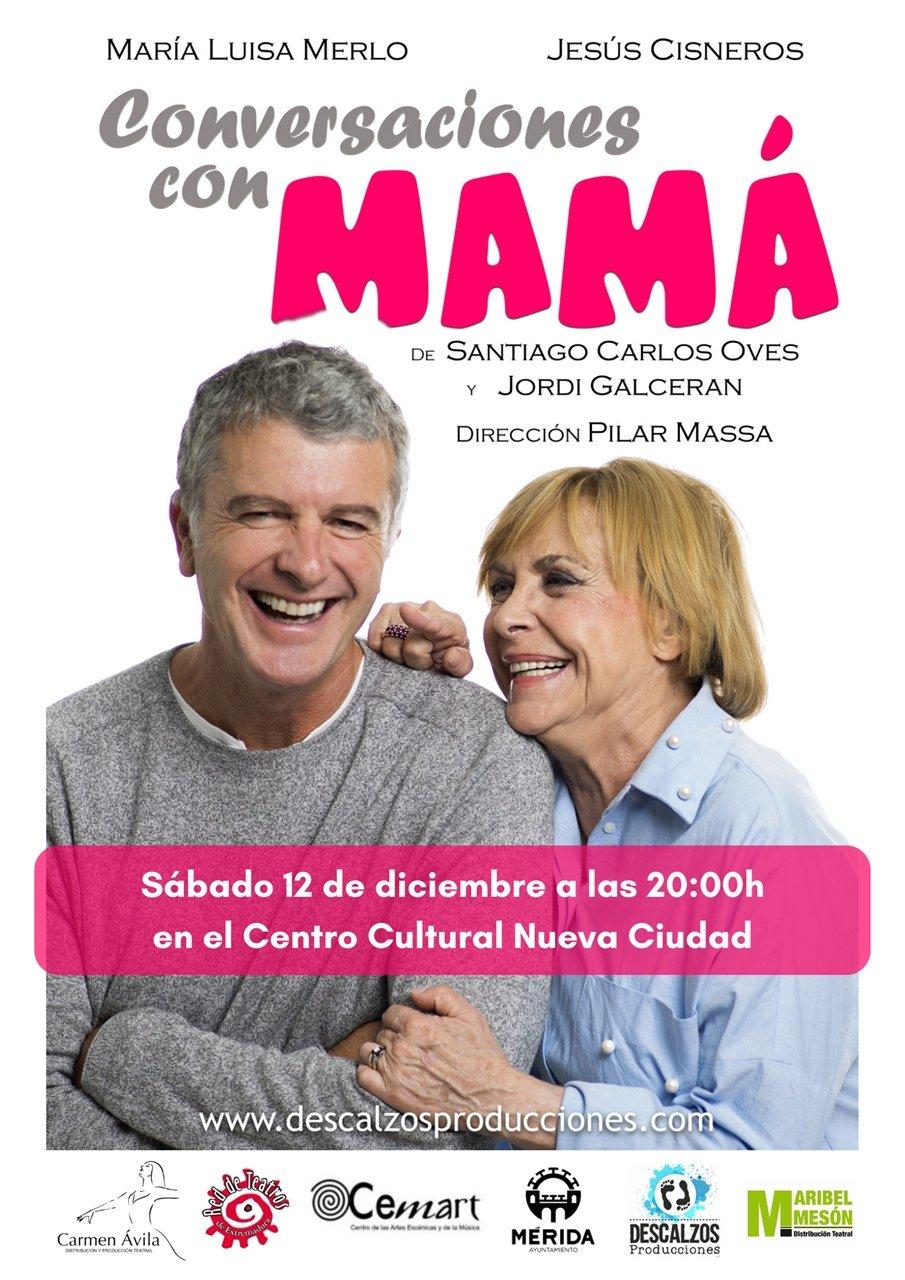 Teatro: «Conversaciones con mamá»