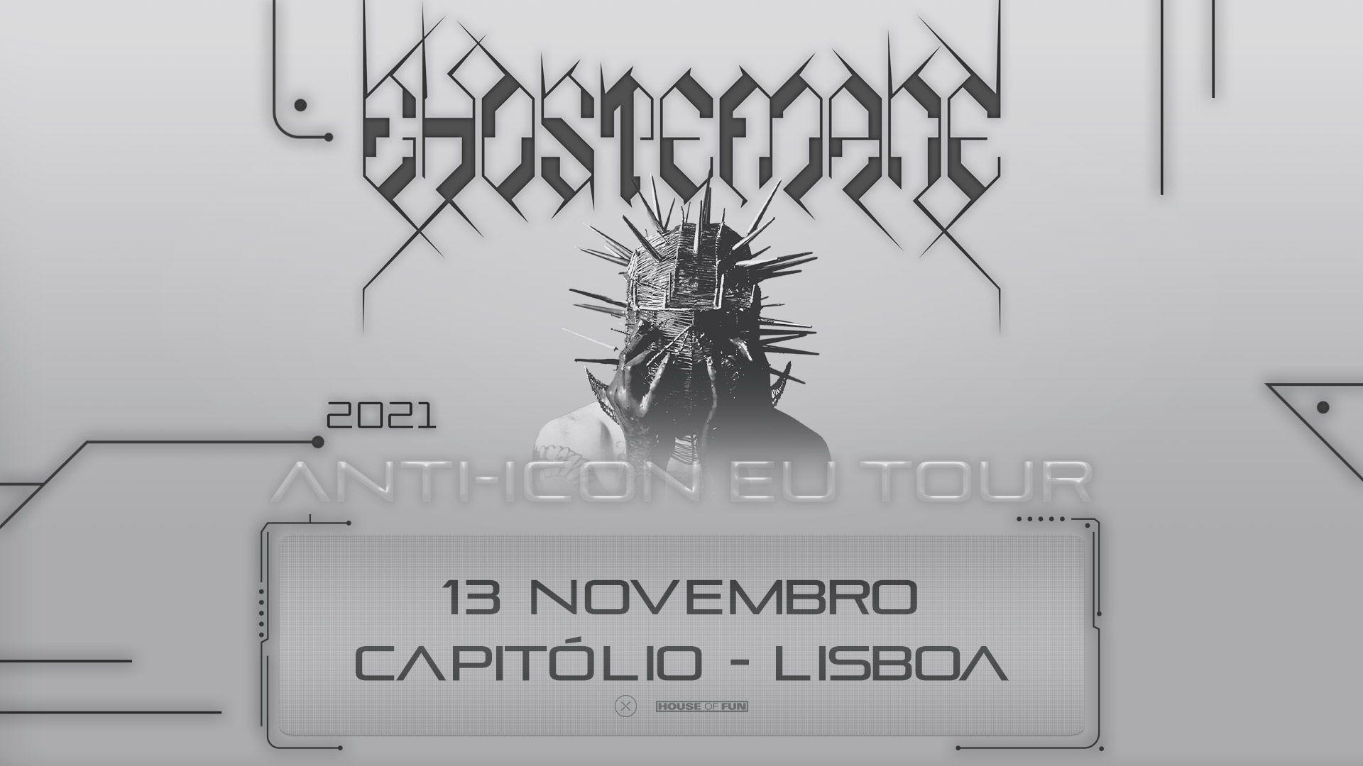 Ghostemane - Capitólio, Lisboa