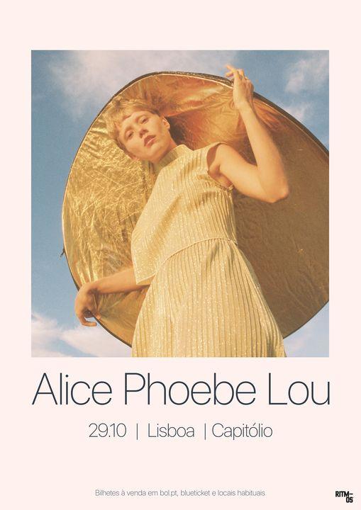 [NOVA DATA] Alice Phoebe Lou | Capitólio, Lisboa Portugal